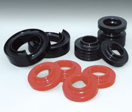 Energy Suspension Polyurethane Coil Lift Isolator Sets